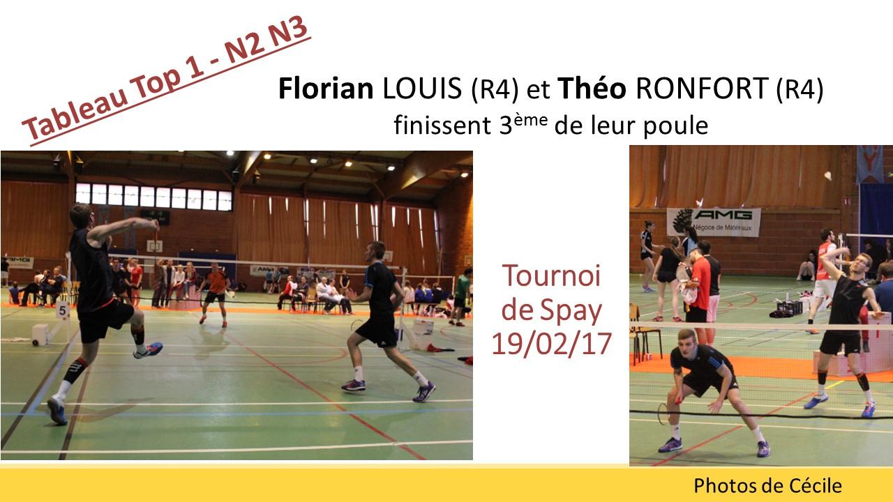 Flo et Théo spay 2017