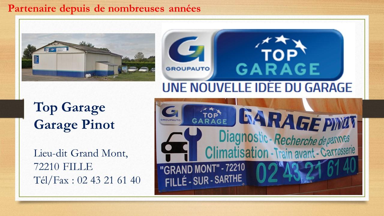 Sponsor garage Pinot