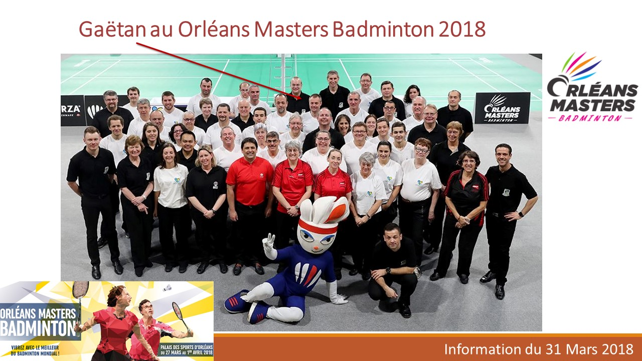 Orléans Master 2018
